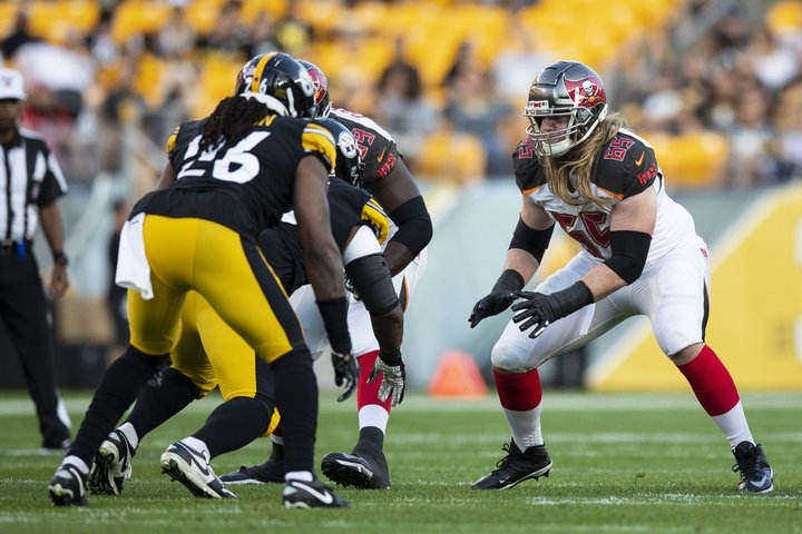 This Weekend Alex Cappa Gets First Nfl Start In Bucs Opener
