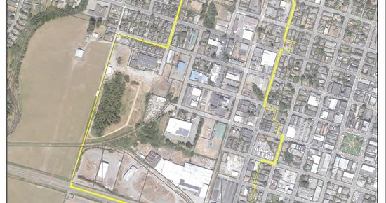 Arcata Offers Walking Tour of 'The Gateway District,' Potentially a New Locus of Housing Development