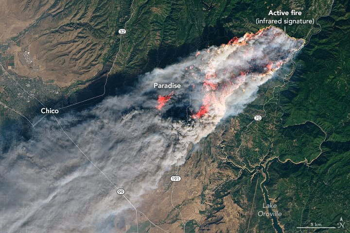 California wildfires: Satellite images reveal devastating scale of disaster across U.S. state
