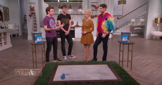 (VIDEO) Humboldt Native Appears on Daytime Talk Show to Demo His Water-Activated Street Art
