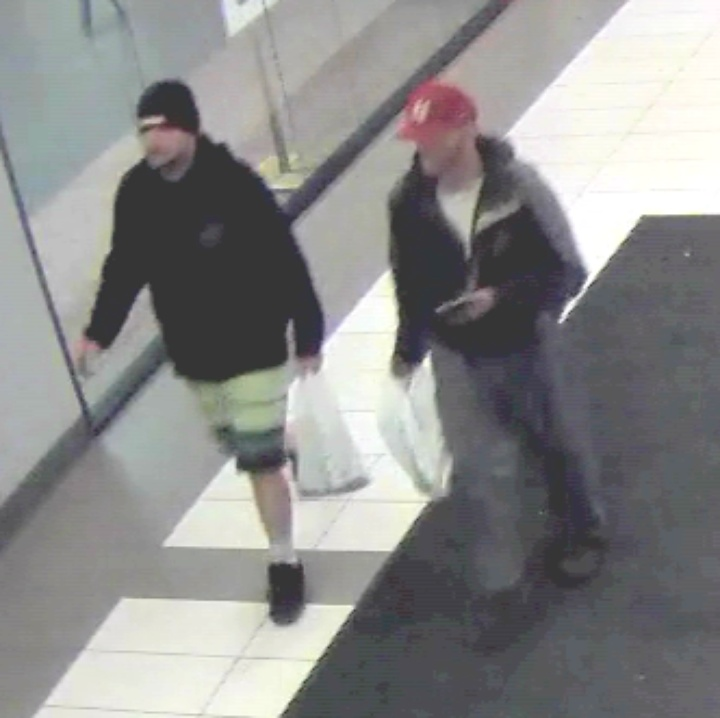 (PHOTOS) A Couple of Dudes Actually Stole Two Bins Full of Donated Toys For Poor Kids From the Mall, Eureka Police Say