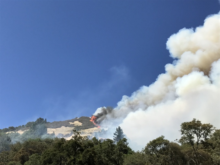 Detwiler fire near Lake McClure grows to 7100 acres overnight