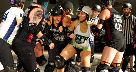 Humboldt Roller Derby Moves Up in the Rankings
