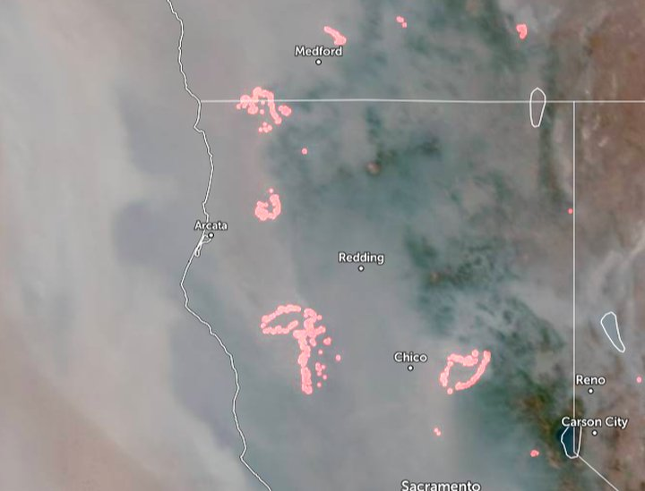 Raging wildfires affecting air quality in Riverside County