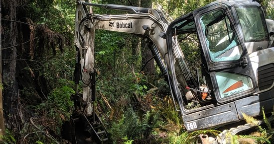 Freshwater-Area Logging Accident Leaves One With 'Severe Extremity Injury'; Humboldt Bay Fire and Allies Extricate Man From Underneath Equipment