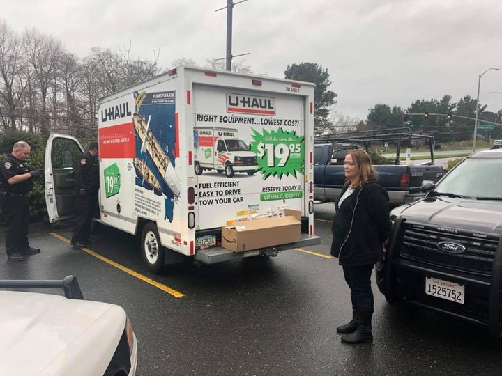 Fortuna Woman On Parole for Mail Theft Arrested for Stealing