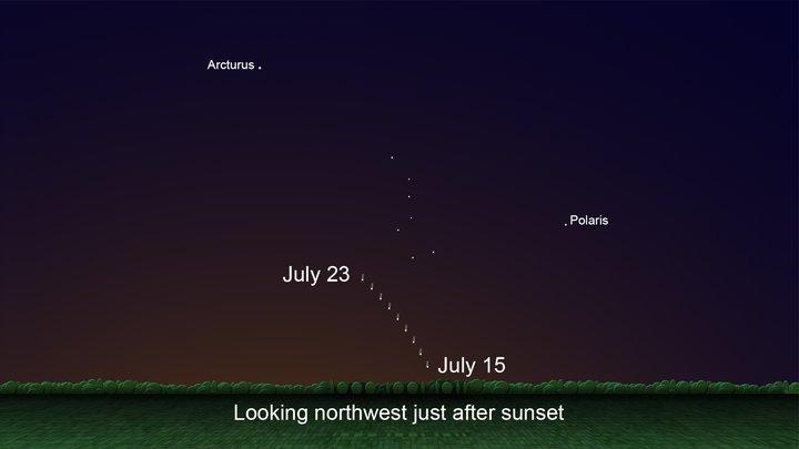 Comet Neowise captured by Okanagan photographers