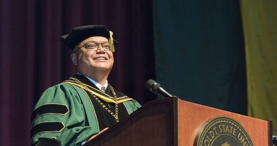 President Jackson's Investiture: Humboldt County Honors HSU's New Prez the Only Way We Know How