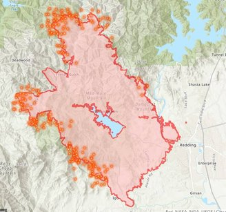 All Things Fire Carr Fire Almost 100 000 Acres Mendo Complex Grows