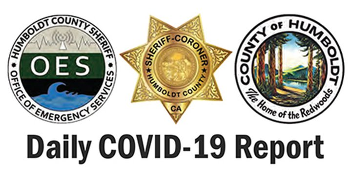 COVID-19 Daily Report for Humboldt County, Jan. 15, 2021