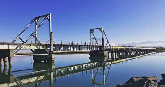 Water Rescue Victim Found Unresponsive After Falling From Eureka Slough Bridge; Suspect Arrested for Interfering With Rescue, Humboldt Bay Fire Says