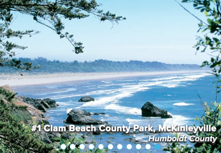 Two of the dirtiest beaches in CA are located in LA county