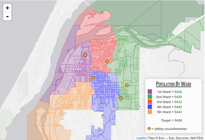 Eureka Redistricting Committee Selects Map Drawn By