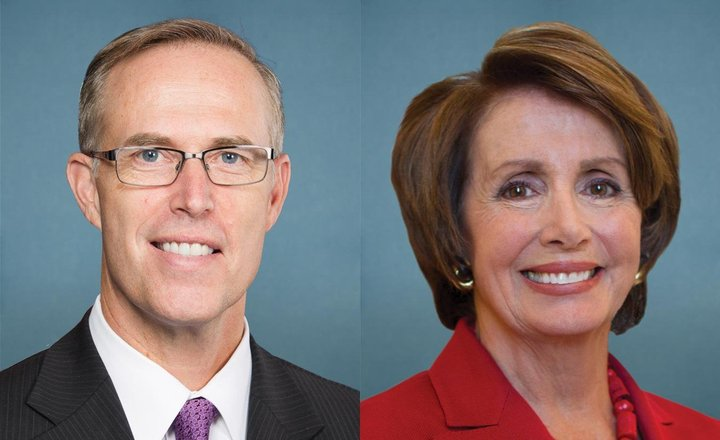 Kansas Democrat Backs Pelosi Bid for House Speaker