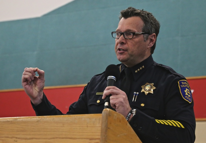 Eureka Police Chief Andy Mills' Martin Luther King Day Celebration