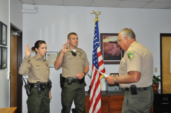 how to become a sheriff deputy in california