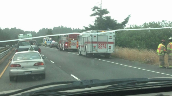 Fatal] Accident near 299 Intersection with Hwy 101 This Morning