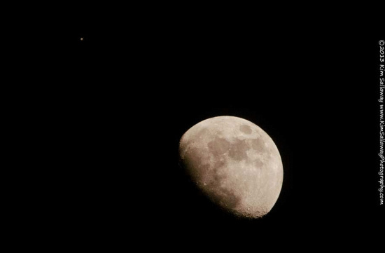 Moon and Jupiter Won't Be this Close Again Until 2026