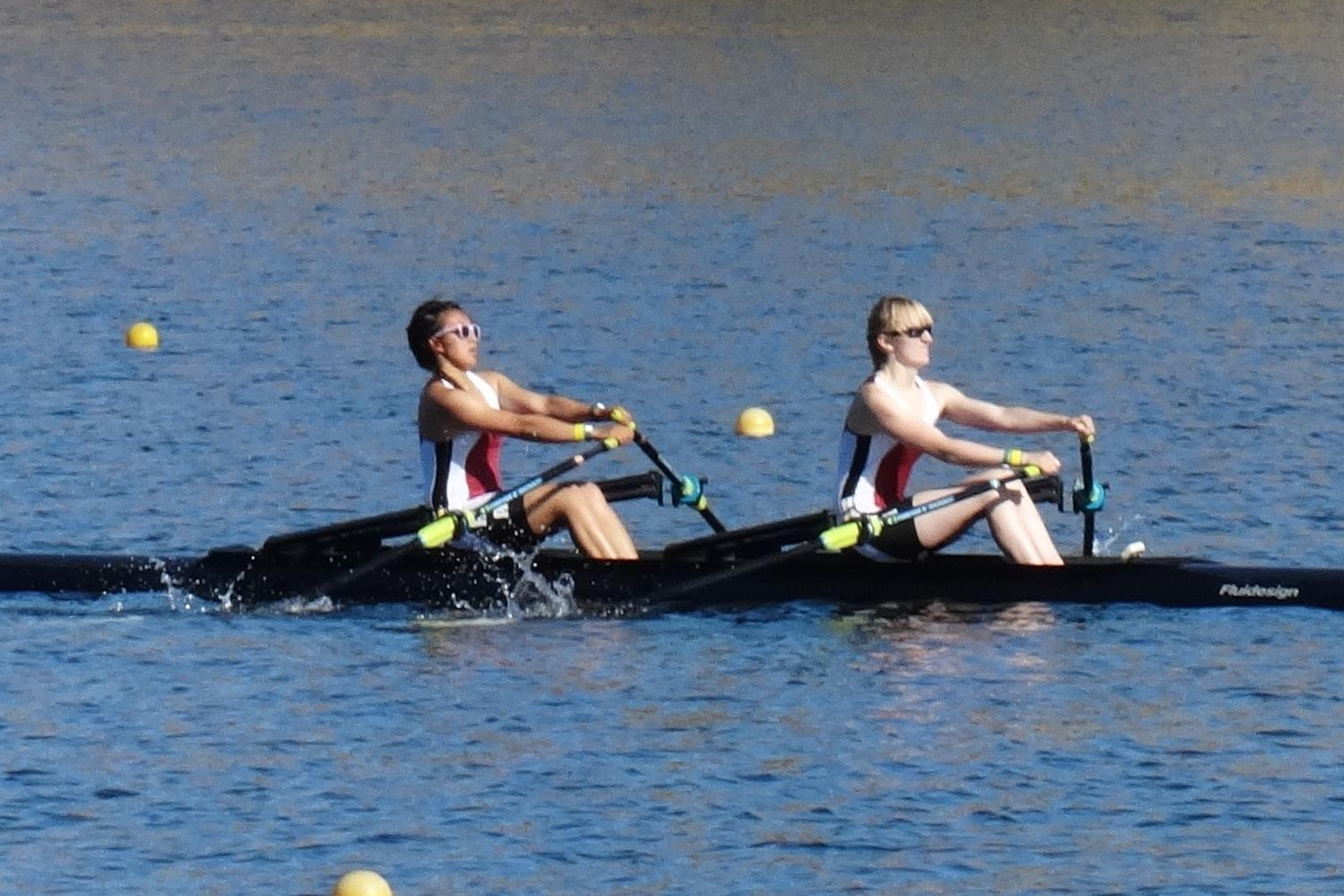 LoCO SPORTS! Humboldt Bay Varsity Rowers Two-Woman Youth Lightweight