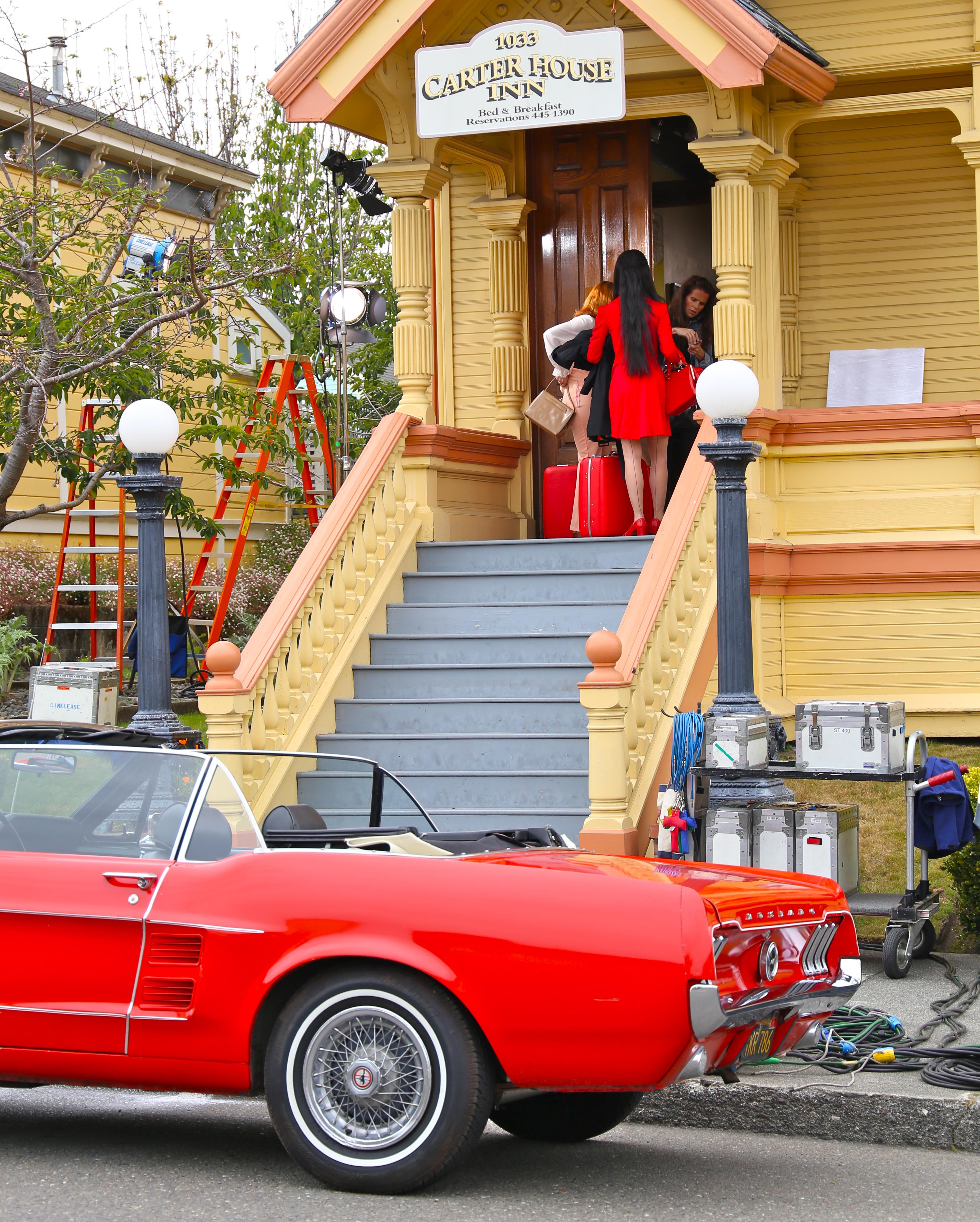 ... Film Crew Invades Arcata Plaza | Lost Coast Outpost | Humboldt County