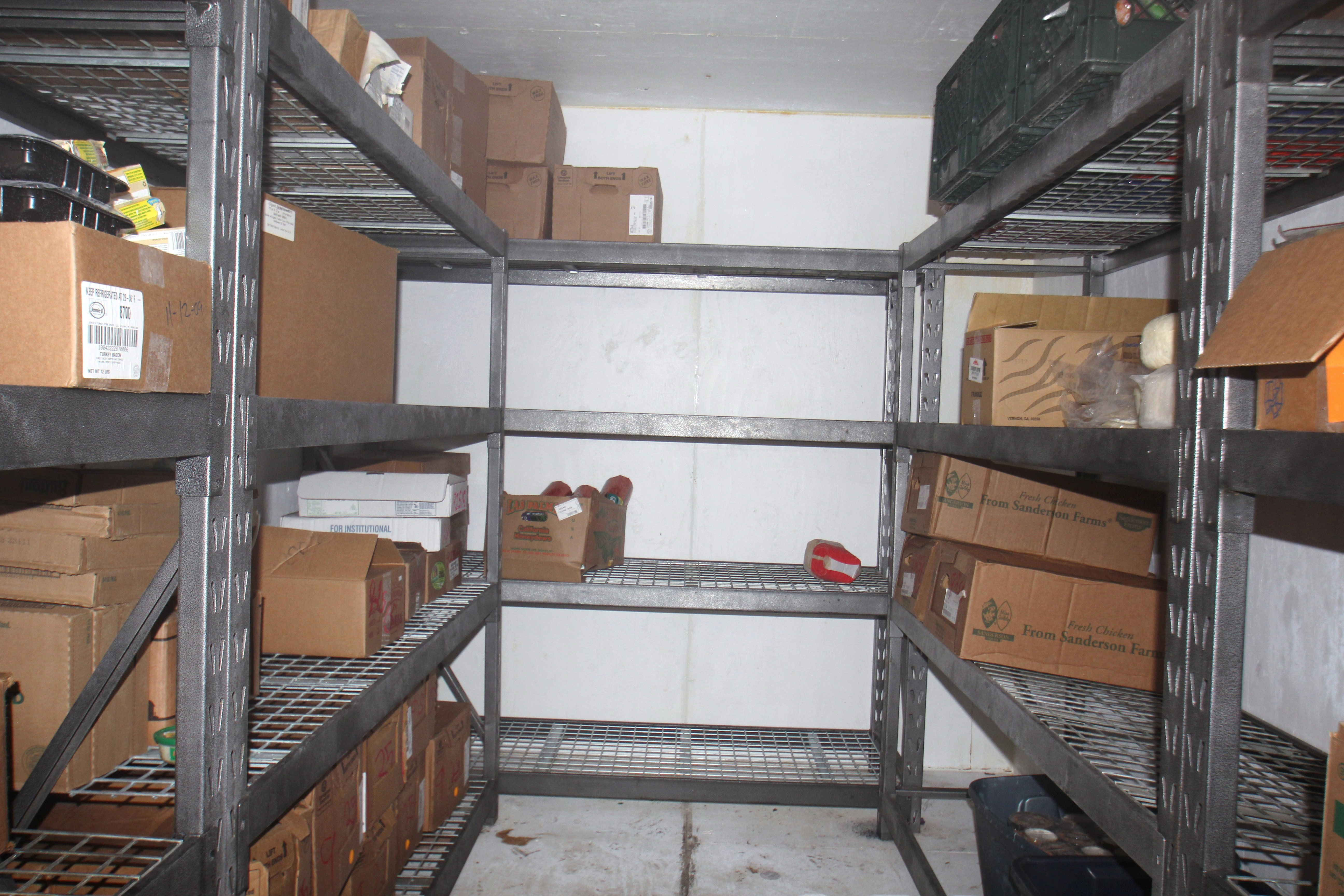 The Freezer Is Bare At The St. Vincent De Paul Soup Kitchen