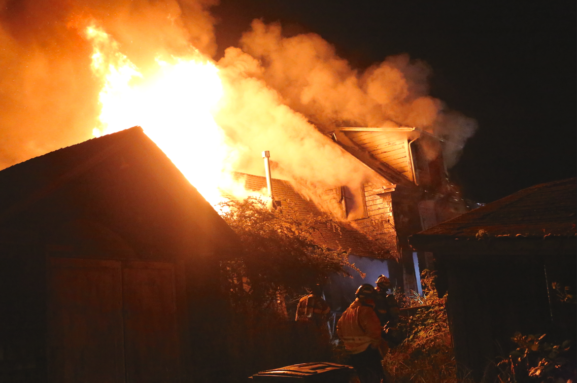 Major House Fire In Mid Eureka (UPDATING)