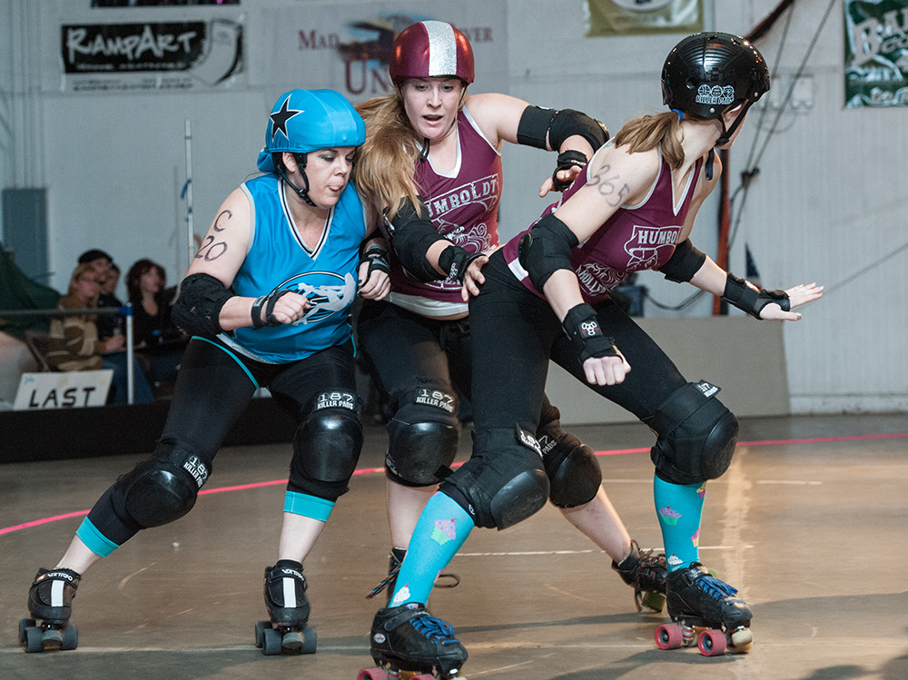 First Roller Derby of the Year! Photos From Last Night's Bout at